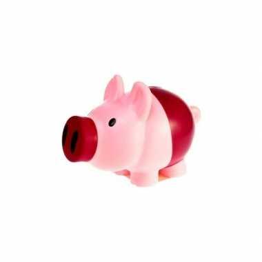 Kinder spaarvarkens roze/paars spaarpot