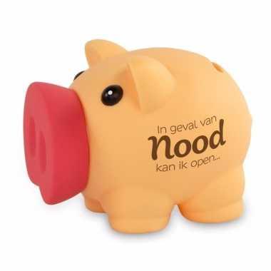 Kinder spaarvarkentje geval nood spaarpot