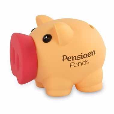 Kinder spaarvarkentje pensioenfonds spaarpot