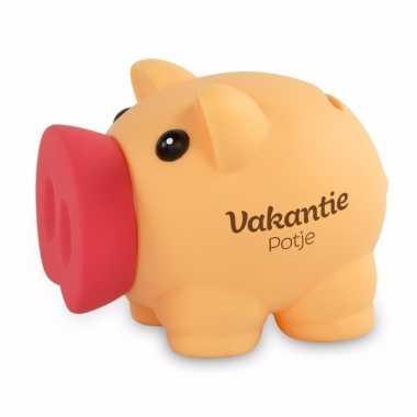 Kinder spaarvarkentje vakantiegeld spaarpot