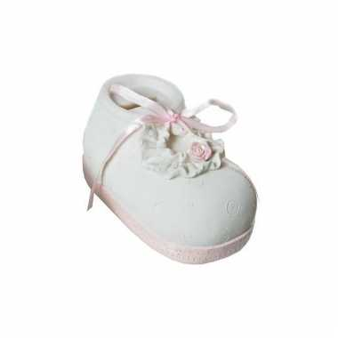 Kinder  Stenen spaarpotten babyschoenen