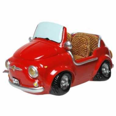 Kinder  Stenen spaarpotten rode cabrio