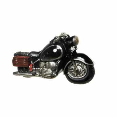 Kinder  Stenen spaarpotten zwarte motorfietsen