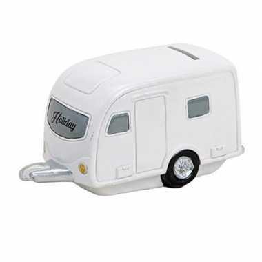 Kinder vakantie spaarpot caravan