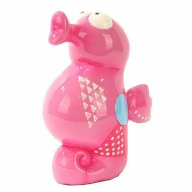 Kinder  Zeepaard spaarpot roze