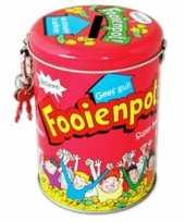 Kinder collecte fooienpot spaarpot
