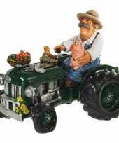 Kinder geld spaarpot boer tractor