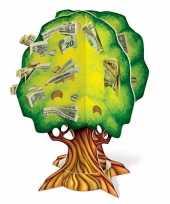 Kinder groen geldboompje spaarpot