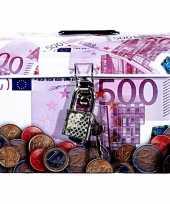 Kinder spaarpot euro biljet 10060722