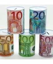 Kinder spaarpot euro biljet 10135573