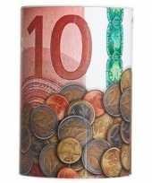 Kinder spaarpot euro biljet 10135592
