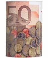 Kinder spaarpot euro biljet 10135595